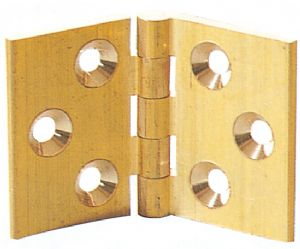 210 Solid Brass Backflap Hinge
