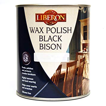Liberon Black Bison Paste Wax 1 litre