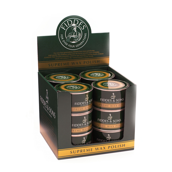 Fiddes Supreme Wax 12 x 400 grams