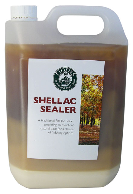 Fiddes Pale Shellac Sealer