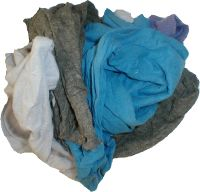 Coloured Flanelette Rags