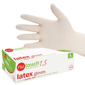 Nu Touch Latex Gloves (100)