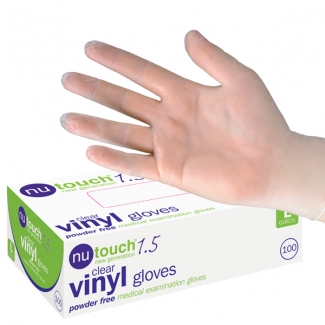 Nu Touch Vinyl Gloves (100)