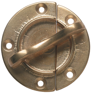 2006 Round Brass Table Catch