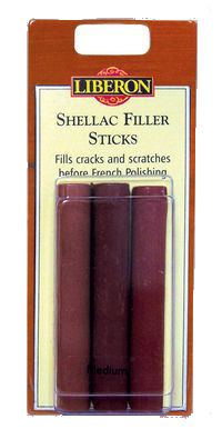 Liberon Shellac Filler Sticks - pk(3)