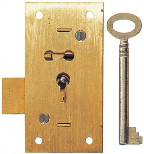 248 Straight Cupboard Lock