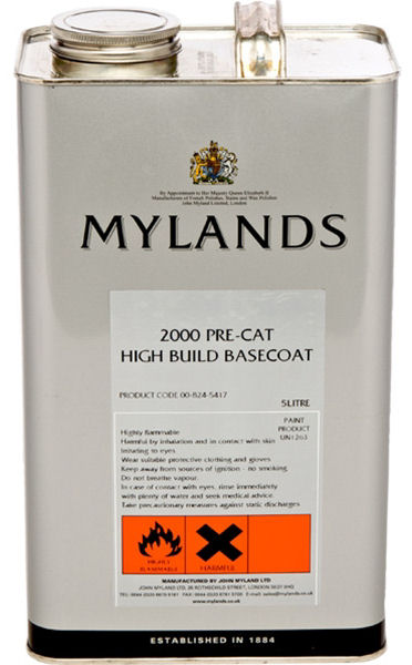 Mylands 2000 Pre-Cat Lacquer
