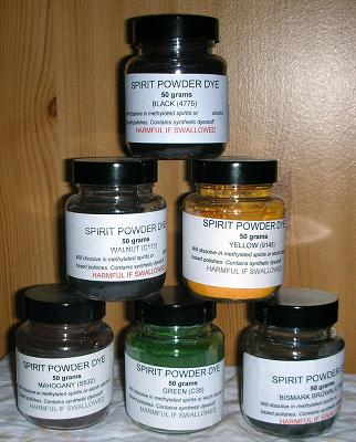 Spirit Powder Dyes
