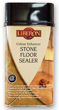 Liberon Stone Floor Sealer - Colour Enhancer