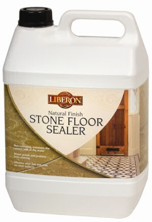 Liberon Stone Floor Sealer - Natural Finish